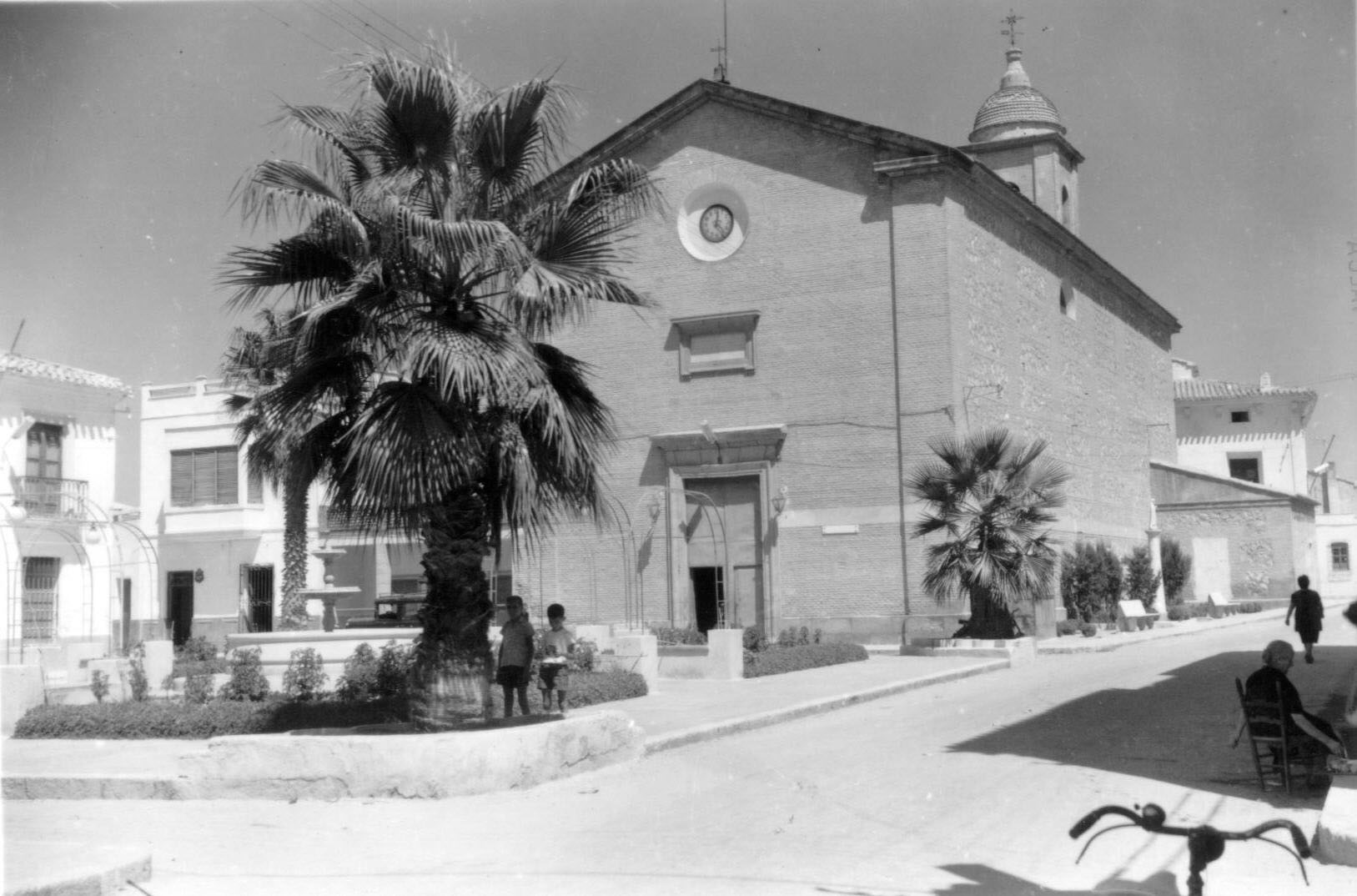 Iglesia  y Glorieta de Pulpi
